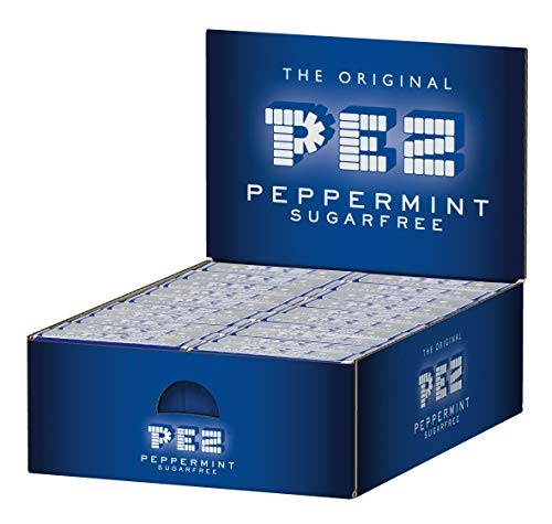 100 PEZ Bonbons Mint 8g
