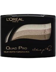 L'Oreal Quad Pro Eyeshadow Palette - 319 Golden Green