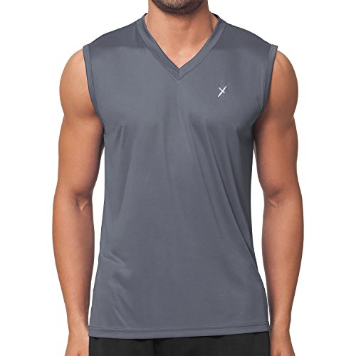 CFLEX Men Sportswear Collection - Muscle-Shirt Grau S -
