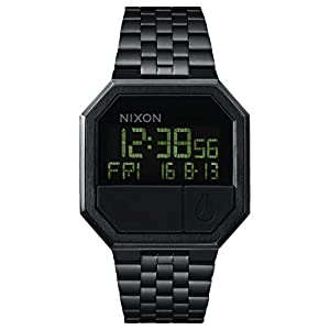 Nixon Unisex Digital Quarz Uhr mit Edelstahl Armband A158001-00