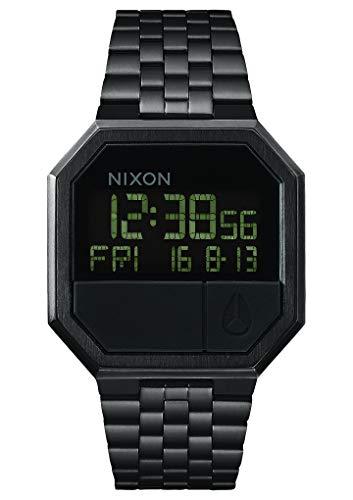 Nixon orologio unisex digitale al quarzo con cinturino in acciaio inox - a158001-00