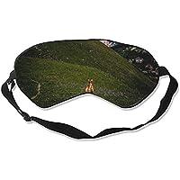 Tier-Schlafmaske mit Esel-Gras Hügel zum Schlafen konturierter Augenmaske, Schlaf für Reisen und Nachtruhe preisvergleich bei billige-tabletten.eu