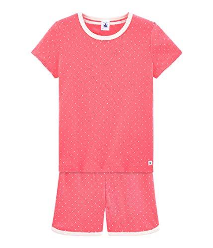 Petit Bateau Mädchen Brief Zweiteiliger Schlafanzug, Mehrfarbig (Cupcake/Ecume 02), 152