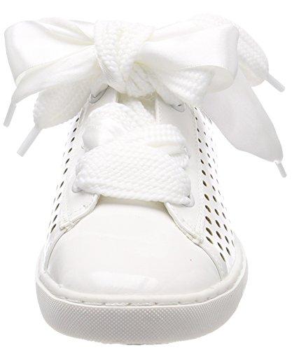 Marco Tozzi Damen 23601 Sneaker weiß white patent - schmitz ... 91f3f12979