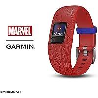Garmin Vivofit Jr. 2 Marvel Spider-Man Kids Fitness Activity Tracker, Red