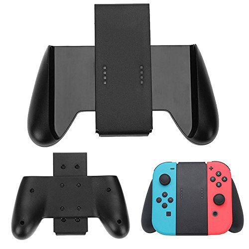 TUTUO pour Nintendo Switch Joy-Con Grip Contrôleur Jeu Poignée Support (Noir)