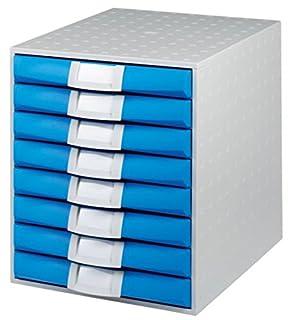 Exacompta The system 8 A4+ - Modulo con 8 cajones, color azul hielo (B009SJWI4U) | Amazon Products
