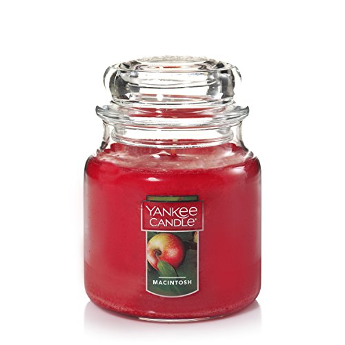 YANKEE CANDLE Company Macintosh Duftkerze im Glas Medium, Obst Duft
