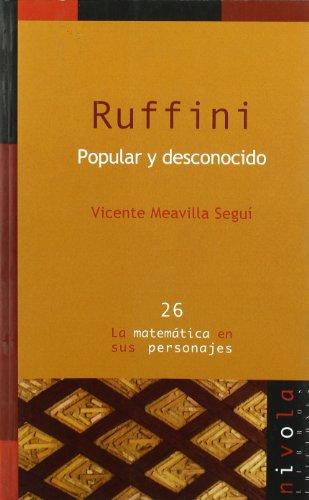 Ruffini, popular y desconocido por Vicente Meavilla Seguí