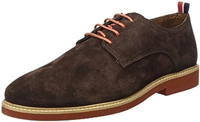 El Ganso Liso Ante, Zapatos de Cordones Oxford para Hombre
