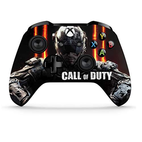 Xbox One S Wireless Controller Pro Konsole - Neueste Xbox Controller Bluetooth mit weichem Griff und exklusiver individueller Version Skin (Call of Duty Dual) (Headset Of Wireless Duty Call)