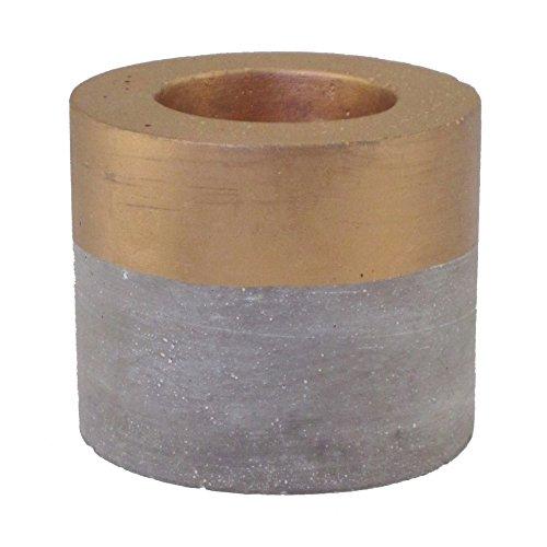 cement-teelichthalter-ca-6-x-7-cm-kerzen-teelicht-halter-aus-beton-gold-39