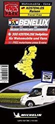 Benelux Motorhome Stopovers: Map (Trailers Park Maps)