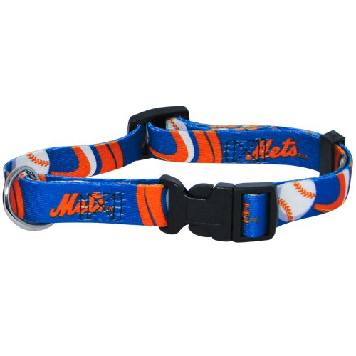 hunter-mfg-new-york-mets-dog-collar-extra-small