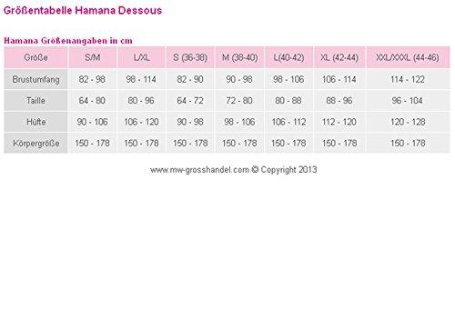 Hamana -  Camicia da notte  - Donna Rot