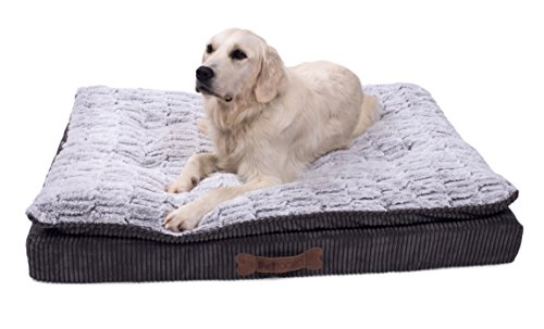 Petface Ultimate Luxury Memory Foam Bed, Large Best Price and Cheapest