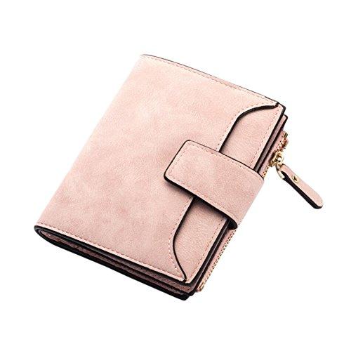Caracteristicas: Hecho del material de cuero de la PU. Buena sensación táctil. Moda y diseño casual, un bolso práctico que nunca fuera de moda. Diseñado con múltiples ranuras para contener efectivo, tarjetas, monedas y otras pequeñas cosas. Una carte...