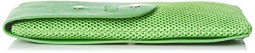 Caco S.r.l. One, Borsa Baguette Donna, Taglia Unica Verde (Verde Acido)