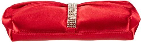 Victoria Delef Evening 13v0402, Damen Clutches 23x13x4 Cm (bxhxt) Rot (rojo)