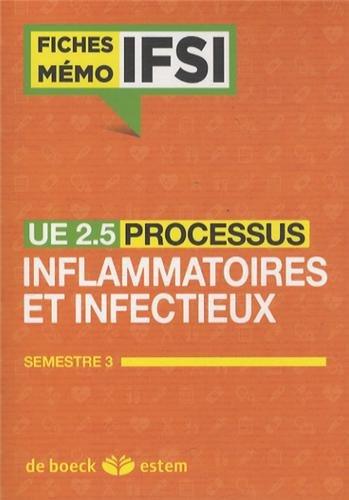 UE 2.5 - Processus inflammatoires et infectieux - Semestre 3