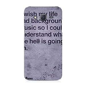 Hamee Designer Printed Hard Back Case Cover for Samsung Galaxy On8 Design 163