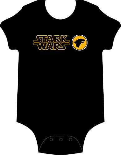 STARK WARS - body - BEBÉ - STAR WARS - game of thrones - GAMBA TARONJ