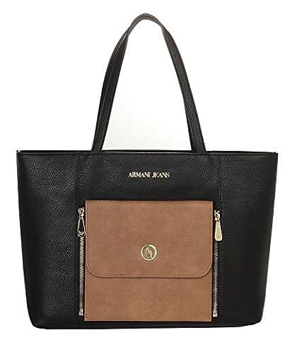 Armani Jeans sac à l'épaule femme noir