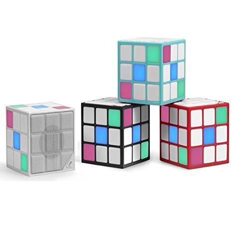 Altavoz Bluetooth Cube Cubo de Rubik 36LED 3W