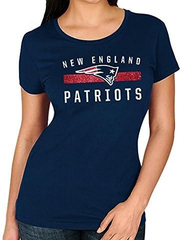 New England Patriots Women's Majestic NFL
