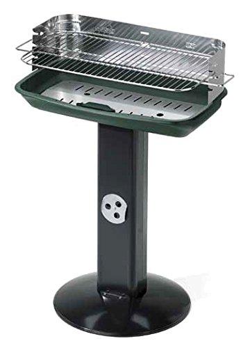 BBQ Grill 60x 36x 86in lackiertem Stahl für Garten Möbel Gartentisch Holz Holzkohle
