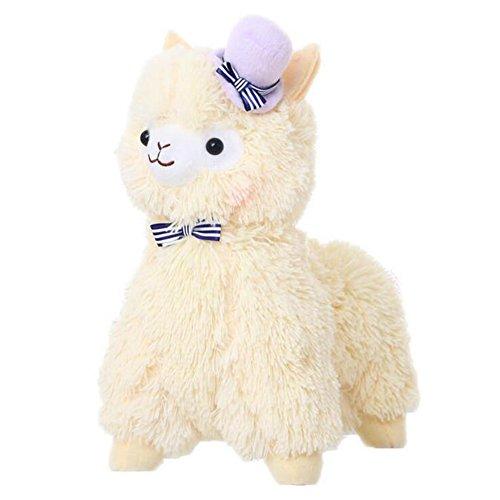 Juleya Kawaii Liebe-Hut Alpaca Lama Plüsch Spielzeug