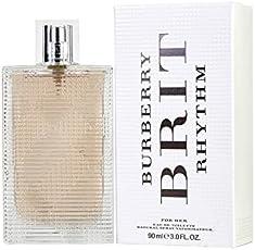 Burberry Brit Rhythm For Her Eau De Toilette 3.3 oz / 100 ml For Women
