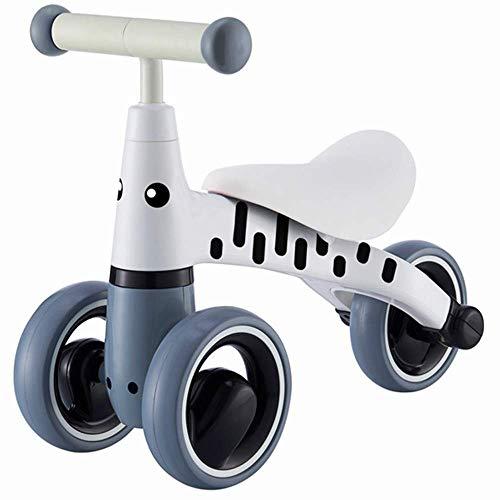 NMBE Babyfahrrad Roller-Wanderer yo Auto 1-3 Jahre alte Babywanderer-Spielzeugauto, das Fahrrad der sicheren Kinder grau