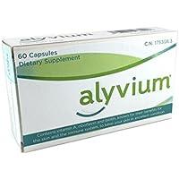 Alyvium - 60 cápsulas Ideal para eczema, psoriasis, dry, escamosa & piel sensible