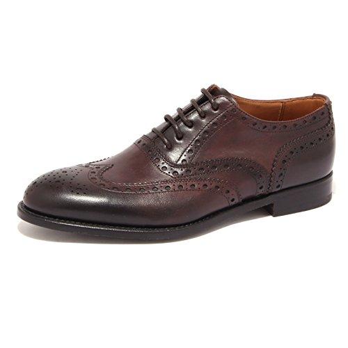 0599S scarpa uomo J. HOLBENS FRANCESINA DUILIO vintage marrone brown shoe men [6.5]
