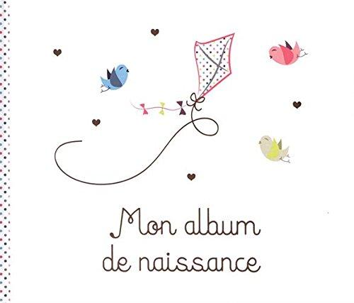 Mon album de naissance fille par Aline Mengant