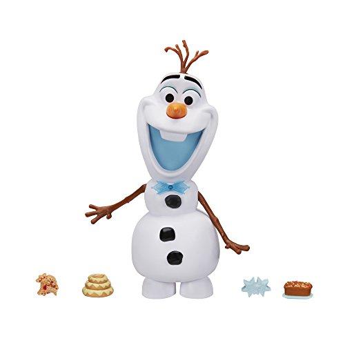 Hasbro Disney Die Eiskönigin C3143EU4 Olafs Holiday Adventure Mampfspaß-Olaf, (Kostüm Frozen Schneemann In)