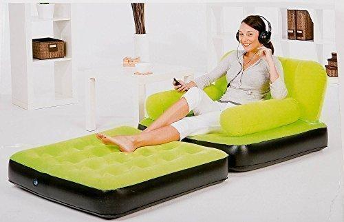 Gästebett Sessel diverse Farben (grün)