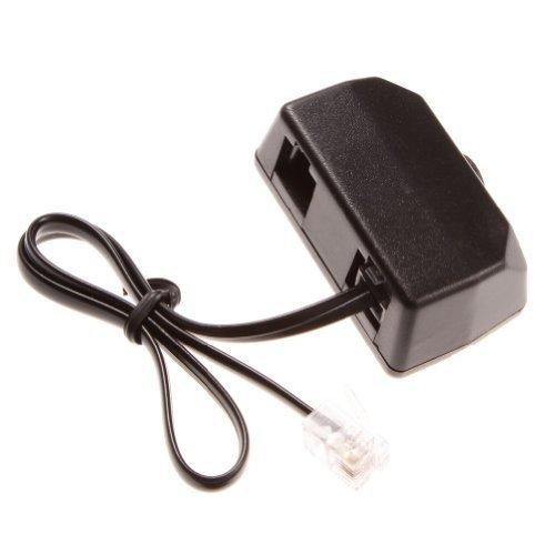 Telefon Aufnahme Adapter für Digital Voice Recorder Telefon Line Recorder Adapter RJ11 (Telefon Recorder Adapter)