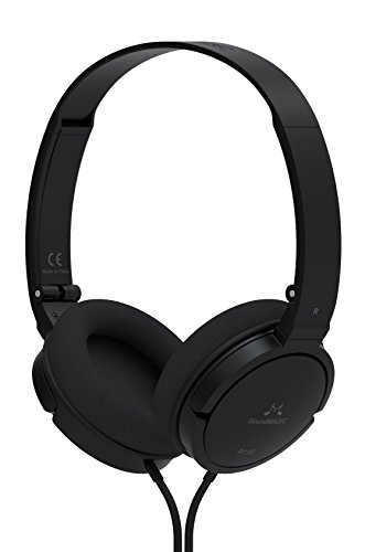 Soundmagic P11S Over-The-Ear Headset with Mic (Black)