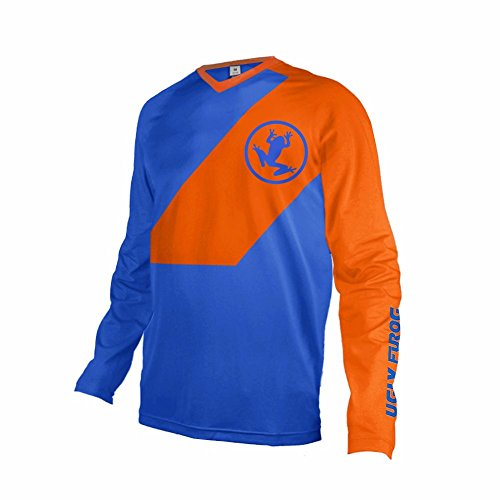 Uglyfrog Bike Wear Atmungsaktiv Trendy Herren Downhill/MTB Jersey Mountain Bike Shirt Fahrradtrikot Langarm Freeride BMX Fr¨¹hling Top F05
