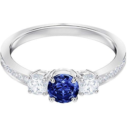 Swarovski Damen-Ringe Edelstahl Kristall \'- Ringgröße 52 5448900