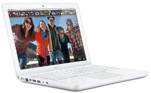 Apple MacBook MC207D/A 33,8 cm (13,3 Zoll) Notebook (Intel Core 2 Duo 2,26 GHz, 2GB RAM, 250GB HDD, NVIDIA GeForce 9400M, DVD, Mac OS)