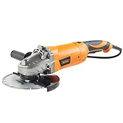 """VonHaus 2200W 230mm (9"""") Angle Grinder Supplied with Diamond Tipped Cutting Disc & Rotating Rear Handle 