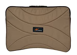 Protecta Maze 15.6 inch Laptop Sleeve (Beige and Brown)