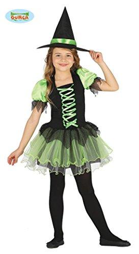 08493b15e4 Grüne Hexe Hexenkostüm für Mädchen Gr. 98-146, (Kostüm Zauberin Grüne)