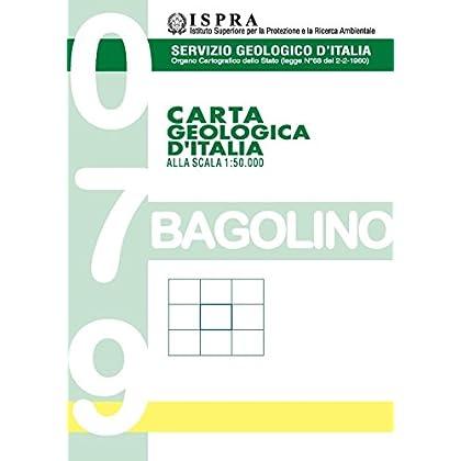 Carta Geologica D'italia 1:50.000 F° 079. Bagolino