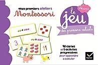Le jeu Montessori des premiers calculs par Sophie Tovagliari
