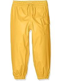 Hatley Childrens Splash Pant -Yellow - Pantalones Impermeable Niñas