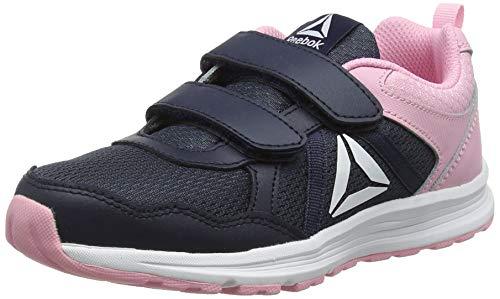 Reebok Mädchen Almotio 4.0 2v Traillaufschuhe, Mehrfarbig (Collegiate Navy/Light Pink 000), 34 EU